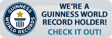 We're A Guinness World Record Holder!