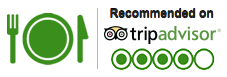 Reccommended on TripAdvisor